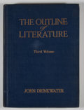 Books:Reference & Bibliography, [John Drinkwater, editor]. The Outline of Literature....