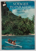 Books:First Editions, William R. Gray. Voyages to Paradise. Exploring in the Wakeof Captain Cook....