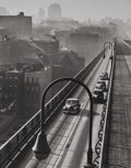 Photographs:20th Century, HAROLD ROTH (American, b. 1918). Williamsburg Bridge, 1947.Gelatin silver, 1997. Paper: 13-3/4 x 11 inches (34.9 x 27.9...