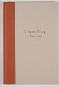 Books:Signed Editions, Elmer Kelton. Signed. Living and Writing in West Texas: Two Speeches by Elmer Kelton....