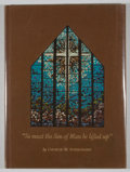 """Books:Signed Editions, [Carl Hertzog, designer]. George W. Burroughs. Signed. """"So must the Son of Man be lifted up.""""..."""