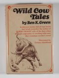 Books:First Editions, Ben K. Green. Wild Cow Tales....