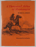 Books:First Editions, Ben K. Green. A Thousand Miles of Mustangin'....