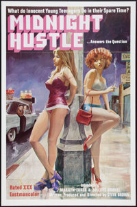 "Midnight Hustle (Dynamite Films, 1977). One Sheet (27"" X 41""). Adult"