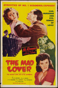 """Movie Posters:War, Enemy of Women (Astor, R-1952). One Sheet (27"""" X 41""""). Reissued as""""The Mad Lover."""" War.. ..."""