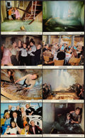 "Movie Posters:Action, The Poseidon Adventure (20th Century Fox, 1972). Deluxe Mini LobbyCard Set of 8 (11"" X 14""). Action.. ..."