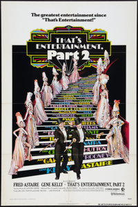 """That's Entertainment, Part 2 (MGM, 1975). One Sheet (27"""" X 41"""") Style B and Lobby Card Set of 8 (11"""" x 14..."""