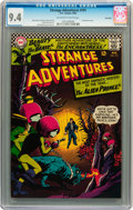 Silver Age (1956-1969):Science Fiction, Strange Adventures #191 Savannah pedigree (DC, 1966) CGC NM 9.4Off-white to white pages....