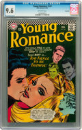 Silver Age (1956-1969):Romance, Young Romance #147 Savannah pedigree (DC, 1967) CGC NM+ 9.6Off-white pages....