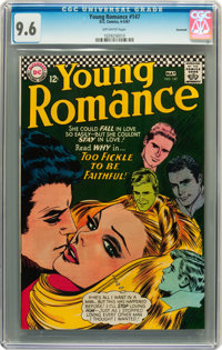 Young Romance #147 Savannah pedigree (DC, 1967) CGC NM+ 9.6 Off-white pages