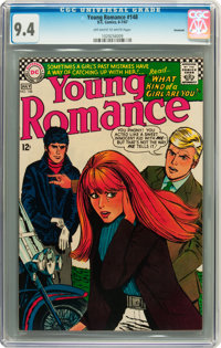 Young Romance #148 Savannah pedigree (DC, 1967) CGC NM 9.4 Off-white to white pages