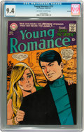 Silver Age (1956-1969):Romance, Young Romance #151 Savannah pedigree (DC, 1966) CGC NM 9.4Off-white to white pages....