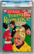 Silver Age (1956-1969):Romance, Young Romance #145 Savannah pedigree (DC, 1966) CGC NM 9.4 Cream tooff-white pages....