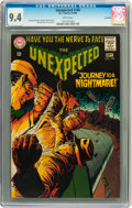Silver Age (1956-1969):Horror, Unexpected #108 Savannah pedigree (DC, 1968) CGC NM 9.4 Whitepages....