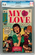 Bronze Age (1970-1979):Romance, My Love #8 Savannah pedigree (Marvel, 1970) CGC NM 9.4 Off-white towhite pages....