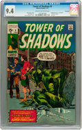 Bronze Age (1970-1979):Horror, Tower of Shadows #9 Savannah pedigree (Marvel, 1971) CGC NM 9.4Cream to off-white pages....