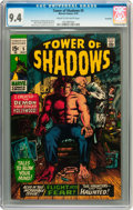 Bronze Age (1970-1979):Horror, Tower of Shadows #5 Savannah pedigree (Marvel, 1970) CGC NM 9.4Cream to off-white pages....
