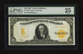Large Size:Gold Certificates, Fr. 1169 $10 1907 Gold Certificate PMG Very Fine 25.. ...