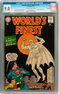 World's Finest Comics #139 Savannah pedigree (DC, 1964) CGC VF/NM 9.0 Off-white to white pages