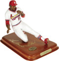 Autographs:Others, Lou Brock Signed Danbury Mint Figurine. Absolutely exceptionallikeness of the record-setting base thief is further improve...