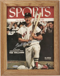 "Autographs:Photos, Ted Williams Signed ""Sports Illustrated"" Cover. An early cover fromthe industry giant Sports Illustrated, this fine pi..."