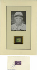 Autographs:Baseballs, Dizzy and Daffy Dean Signed Stamps Lot of 2. Each of the Hall ofFame brothers Dean have contributed their signature to one...