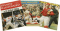 Autographs:Others, St. Louis Cardinals Signed Sports Illustrated Magazines Lot of 10.Intriguing assortment of magazines dating from 1956 thro...