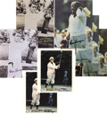 "Golf Collectibles:Autographs, Gene Sarazen Signed Photographs Lot of 7. Selection of 8x10"" photos(three different images) offer flawless sharpie signatu..."