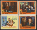 "Movie Posters:Crime, Another Man's Poison (United Artists, 1952). Title Lobby Card (11""X 14"") and Lobby Cards (3) (11"" X 14""). Crime. Starring B...(Total: 4 Items)"
