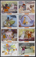 "Movie Posters:Animated, The Aristocats (Buena Vista, 1970). Lobby Card Set of 8 (11"" X14""). Animated Musical. Starring the voices of Phil Harris, E...(Total: 8 Items)"