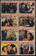"""Movie Posters:Serial, Arrest Bulldog Drummond (Paramount, 1939). Lobby Card Set of 8 (11""""X 14""""). This was the last of the Paramount's """"B"""" films b... (Total:8 Items)"""