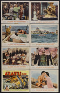 "Movie Posters:Adventure, Atlantis, the Lost Continent (MGM, 1961). Lobby Card Set of 8 (11""X 14""). Sci-Fi Adventure. Starring Anthony Hall, Joyce Ta...(Total: 8 Items)"
