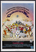 "Movie Posters:Animated, Charlotte's Web (Paramount, 1973). One Sheet (27"" X 41""). Animated. Starring the voices of Debbie Reynolds, Paul Lynde and H..."