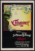 "Movie Posters:Film Noir, Chinatown (Paramount, 1974). One Sheet (27"" X 41""). Mystery. Starring Jack Nicholson, Faye Dunaway, John Huston, Perry Lopez..."