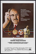 "Movie Posters:Crime, The Conversation (Paramount, 1974). One Sheet (27"" X 41"").Thriller. Directed by Francis Ford Coppola. Starring GeneHackman..."