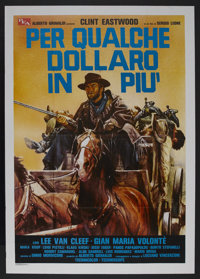 "For a Few Dollars More (United Artists, R-1970s). Italian 2 - Folio (39"" X 55""). Western. Starring Clint Eastw..."