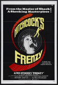 "Movie Posters:Hitchcock, Frenzy (Universal, 1972). One Sheet (27"" X 41""). Thriller. StarringJon Finch, Alec McCowen, Barry Foster and Billie Whitela..."