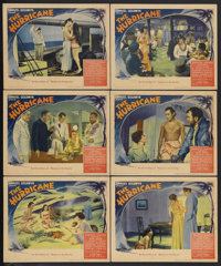 "The Hurricane (United Artists, 1937). Lobby Cards (6) (11"" X 14""). Action Drama. Starring Dorothy Lamour, Jon..."