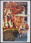 "Movie Posters:Adventure, Indiana Jones and the Temple of Doom (Paramount, 1984). Italian 2 -Folio (39"" X 55""). Adventure. Starring Harrison Ford, Ka..."