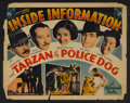 "Movie Posters:Action, Inside Information (Stage and Screen Productions, 1934). Half Sheet (22"" X 28""). Action. Starring Rex Lease, Marion Shilling..."