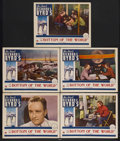 "Movie Posters:Documentary, Into Little America (Paramount, 1935). Lobby Cards (5) (11"" X 14""). Also known as ""At the Bottom of the World."" Documentary.... (Total: 5 Items)"