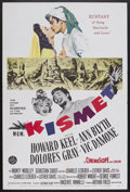 "Movie Posters:Musical, Kismet (MGM, 1955). One Sheet (27"" X 41""). Musical. Starring Howard Keel, Ann Blyth, Dolores Gray, Vic Damone and Monty Wool..."