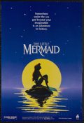 "Movie Posters:Animated, The Little Mermaid (Buena Vista, 1989). Mini (17.5"" X 26"").Animated Musical Fantasy. Starring the voices of Jodi Benson, Pa..."