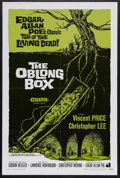 "Movie Posters:Horror, The Oblong Box (AIP, 1969). One Sheet (27"" X 41""). Horror. Starring Vincent Price, Christopher Lee, Rupert Davies, Uta Levka..."