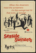 "Movie Posters:Rock and Roll, Seaside Swingers (Grand National, 1965). One Sheet (27"" X 41"").Musical Comedy. Starring John Leyton, Mike Sarne, Freddie an..."