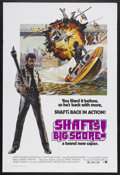 "Movie Posters:Blaxploitation, Shaft's Big Score! (MGM, 1972). One Sheet (27"" X 41"").Blaxploitation Action. Starring Richard Roundtree and Moses Gunn.Dir... (Total: 2 Items)"