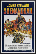 "Movie Posters:Western, Shenandoah (Universal, 1965). One Sheet (27"" X 41""). War Drama.Starring James Stewart, Doug McClure, Glenn Corbett, Patrick..."