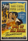 """Movie Posters:Fantasy, Son of Ali Baba (Universal, 1952). One Sheet (27"""" X 41""""). Fantasy Adventure. Starring Tony Curtis, Piper Laurie, Susan Cabot..."""