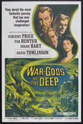 "Movie Posters:Science Fiction, War-Gods of the Deep (AIP, 1965). One Sheet (27"" X 41""). ScienceFiction. Starring Vincent Price, Tab Hunter and Susan Hart...."