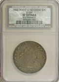 Early Half Dollars: , 1806 50C Pointed 6, No Stem--Reverse Damage--NCS. XF Details.O-109. PCGS Population (7/84). (#6073)...